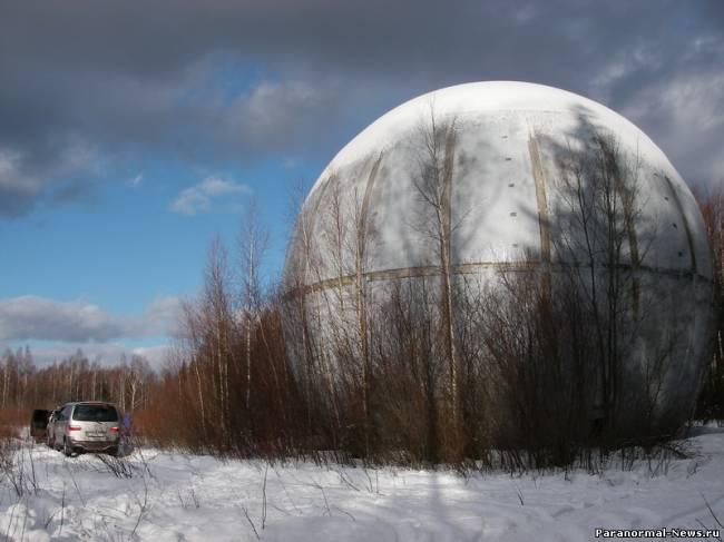 Тайна огромного шара в Тверской области (3 фото + Видео)