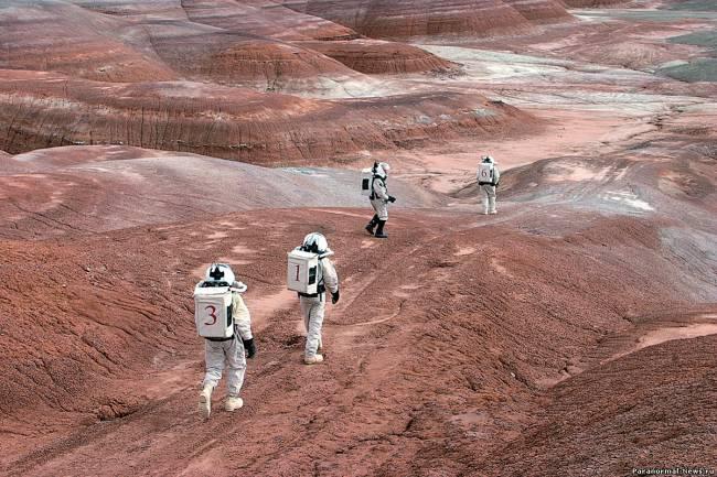 Как не сойти с ума на Марсе (5 фото)