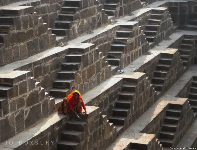 Чанд Баори - Пирамида наизнанку (10 фото)