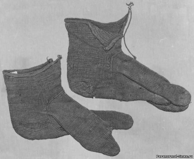 Древнеегипетские двупалые носки