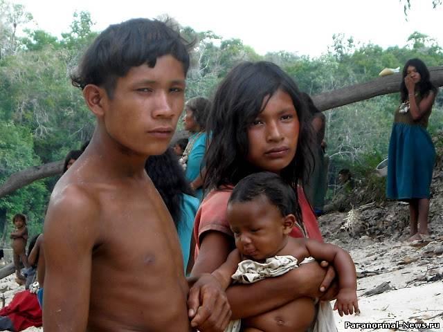 Первообытные племена и секс