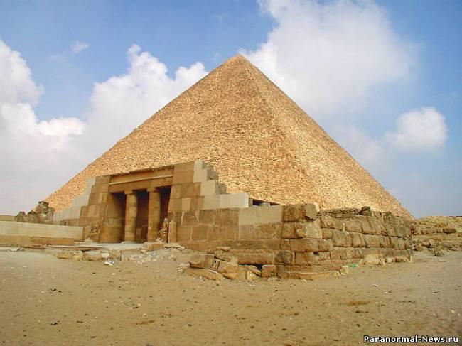 Древние города под пустыней Гизы (4 фото)