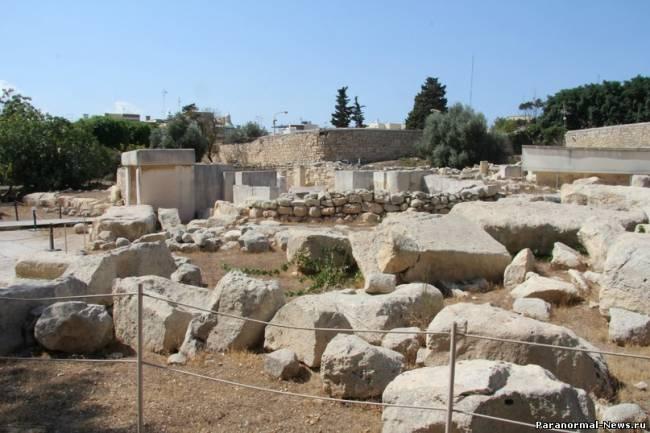 Загадки мегалитов Мальты (10 фото)