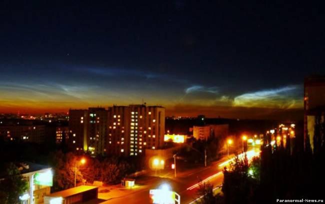 Аномальное небо над городами Челябинской области (3 фото+Видео)