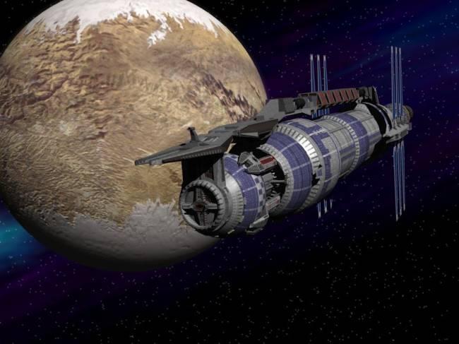 Новые сценарии освоения космоса человечеством (8 фото)