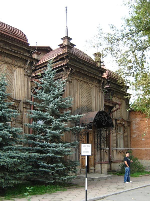 В старинном здании Челябинска бродит призрак (+Видео)