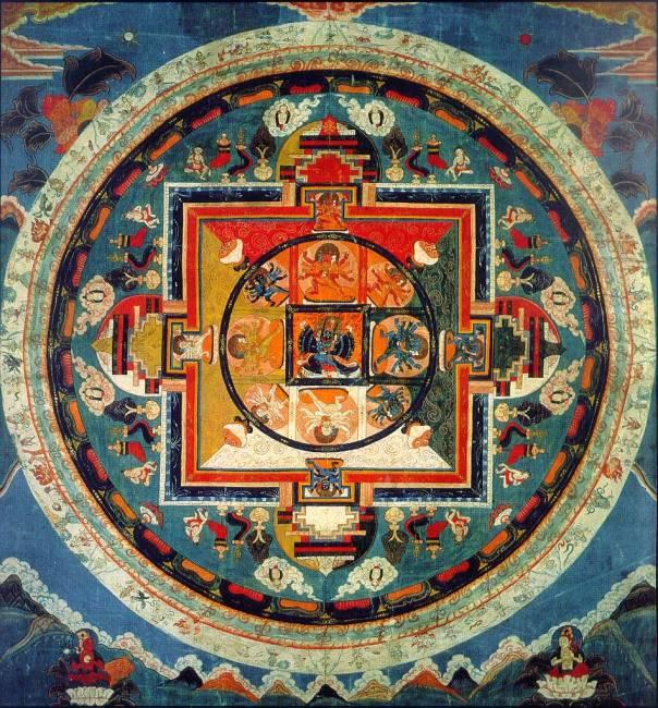 Мандала - Рисунок Вселенной (6 фото)