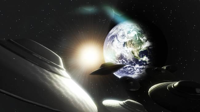Как НЛО исследуют Землю