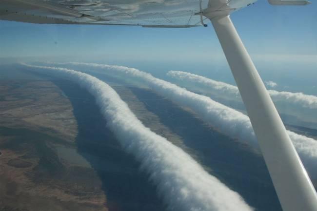В Бразилии засняли редкое облако (4 фото+Видео)