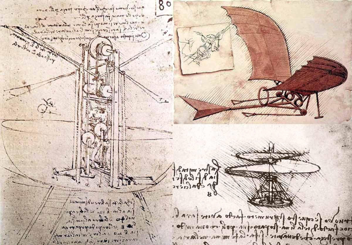 Технические изобретения леонардо да винчи реферат 1997