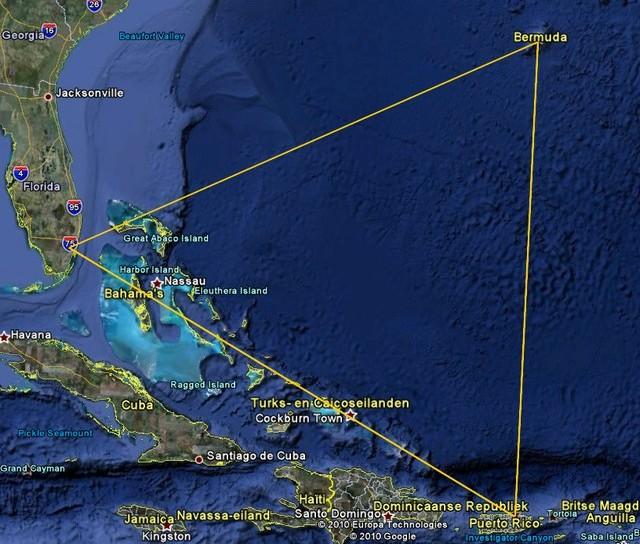 Бермудский треугольник: Какая версия правдоподобнее?