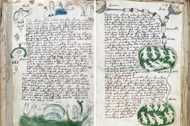 Расшифрована колдовская книга