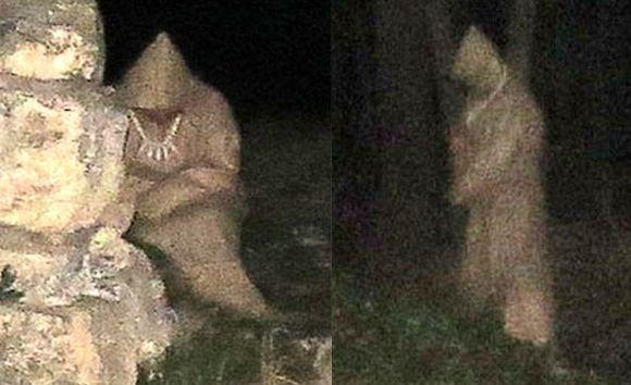 В Болгарии засняли призрак монаха (3 фото)