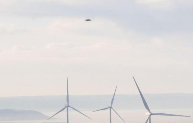В Великобритании массово наблюдали НЛО. Фото