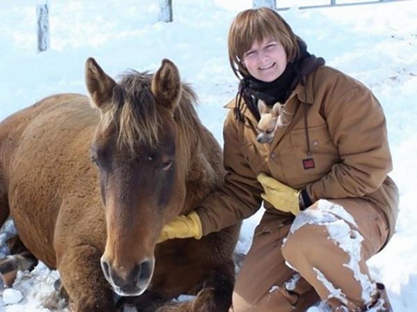 У жительницы Канады после падения с лошади проснулась генная память?
