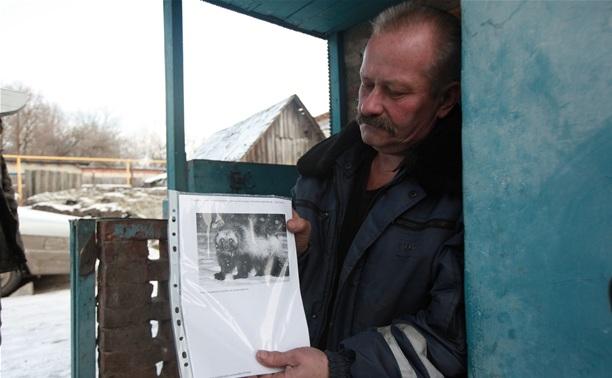 В Туле неизвестный крупный хищник убил, но не съел кроликов (3 фото)