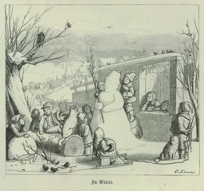Когда снеговики были злыми