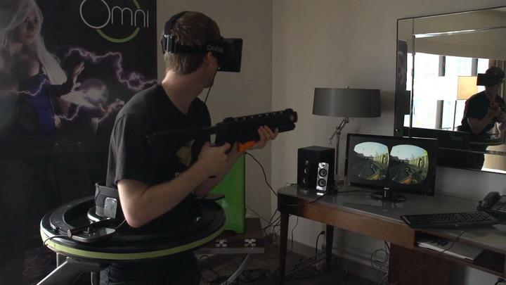 Система полного погружения в виртуальную реальность уже создана (3 фото + видео)