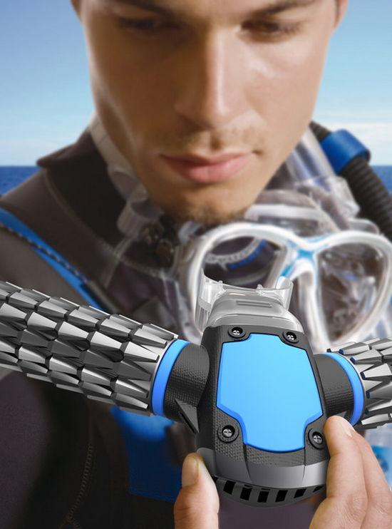 Новейшее изобретение в разы упростит людям возможность долго находиться под водой (3 фото)