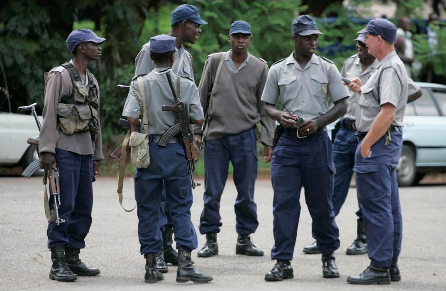 """В Зимбабве """"гоблин из бутылки"""" до ужаса перепугал полицейских"""