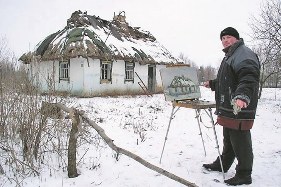 Винницкий художник рассказал про странные случаи в своей жизни