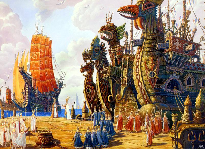 """Пирамиды Египта строили люди, """"прибывшие с островов северной страны Дуат-н-Ба"""" (8 фото)"""