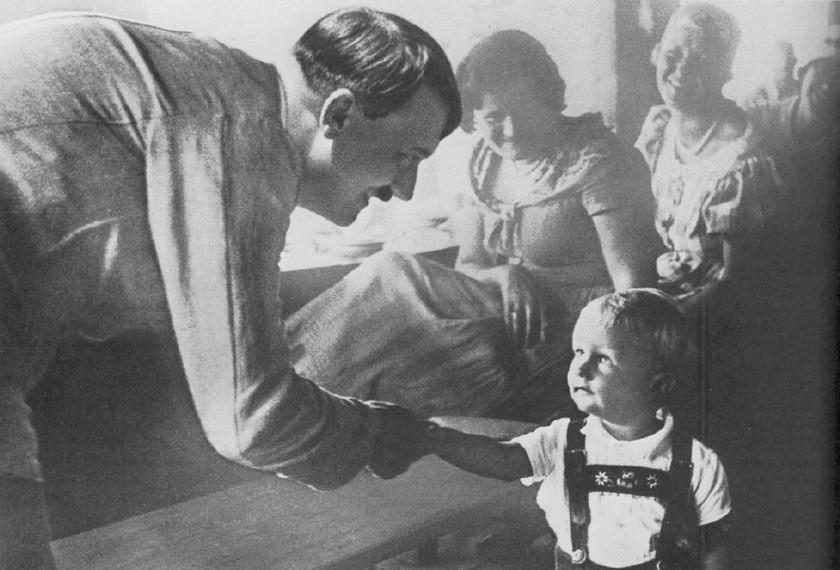 фото гитлер и дети