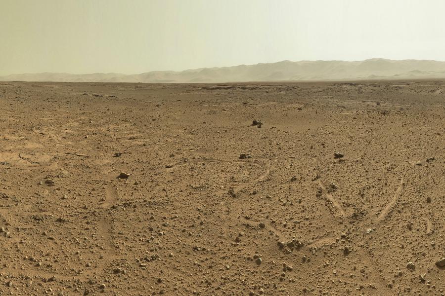 Марсоход curiosity исследует необычные