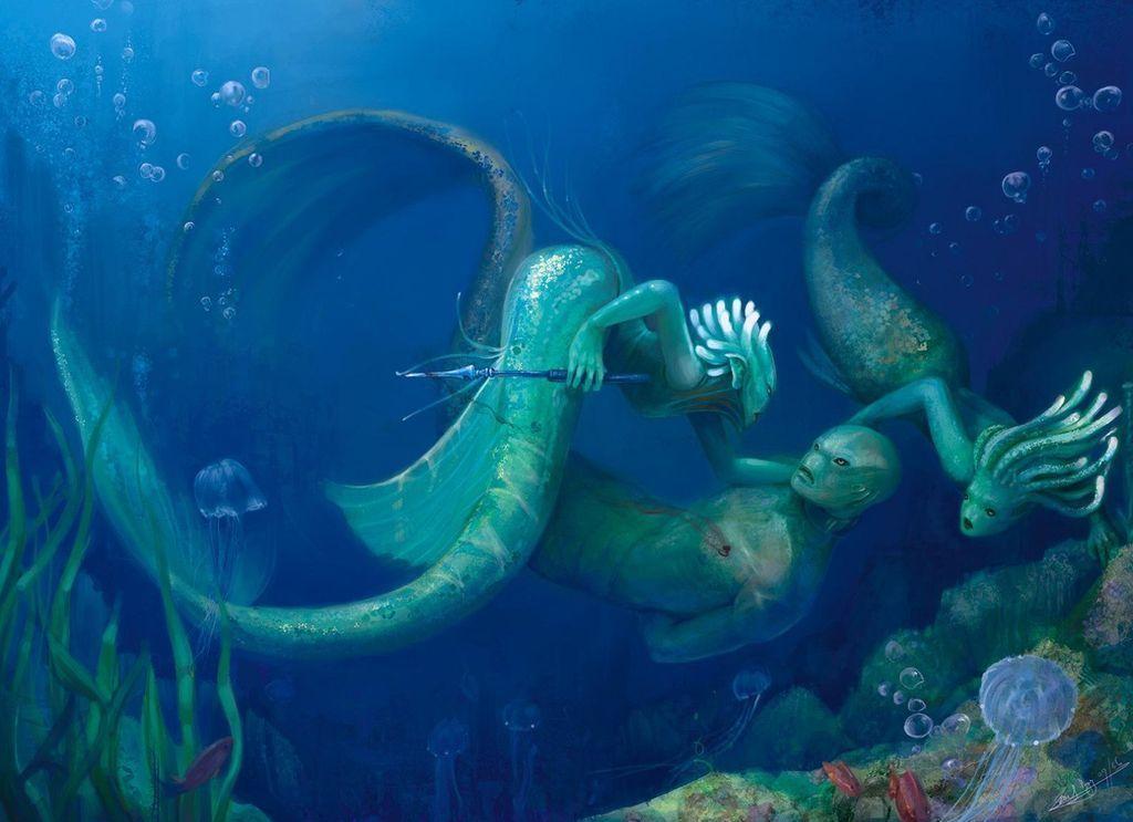Легенды о морских жителях
