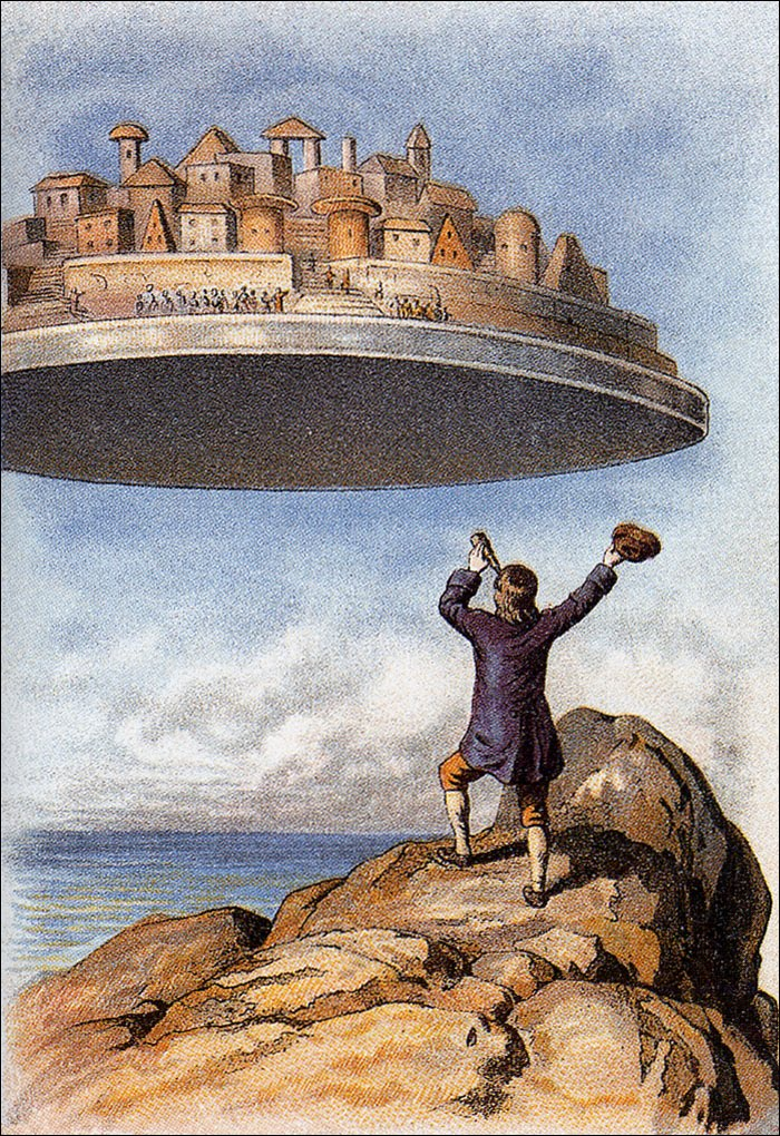 an analysis of jonathan swifts ideals in his satire gullivers travels