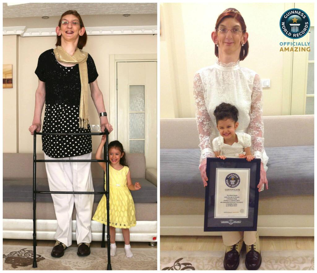 Кто самая высокая девушка мира