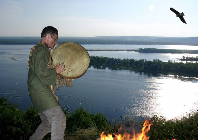 Таинство ритуала (5 фото)