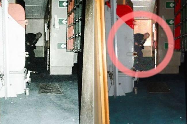 Заснятый на военном корабле призрак с топором напугал рабочих
