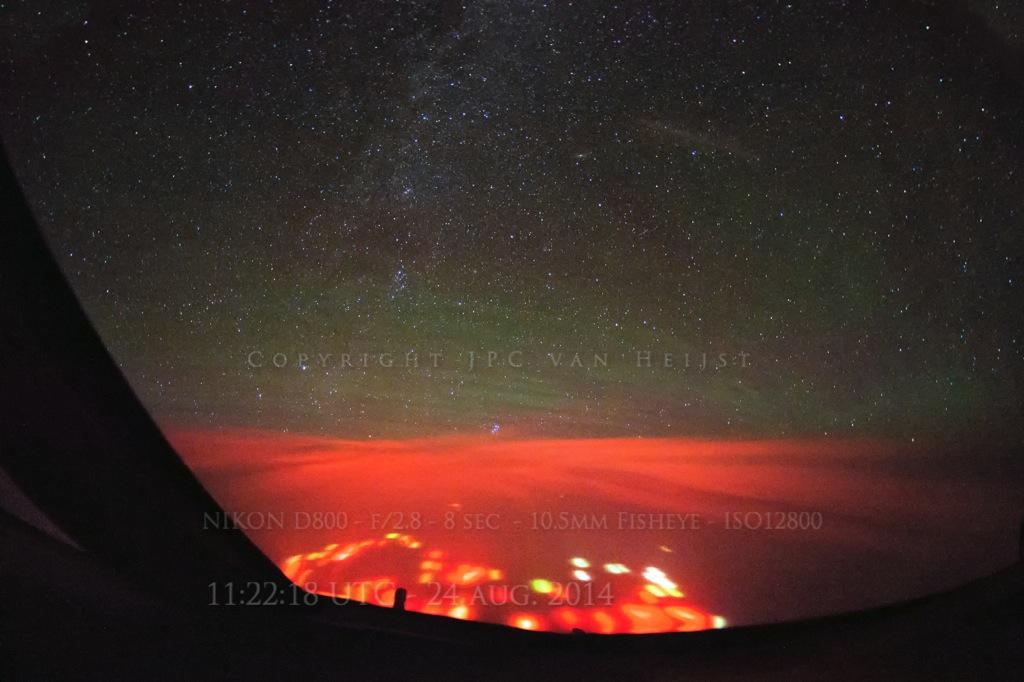 Вулканы не имеют никакого отношения к красным огням в океане у юга Камчатки