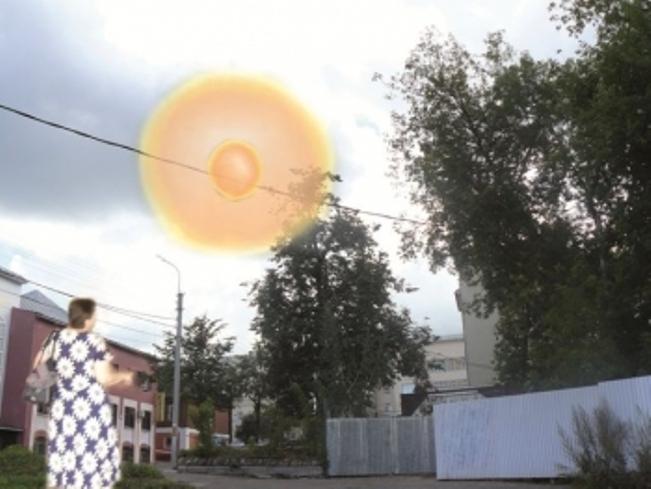 За жительницей Иваново гонялся красный пульсирующий шар