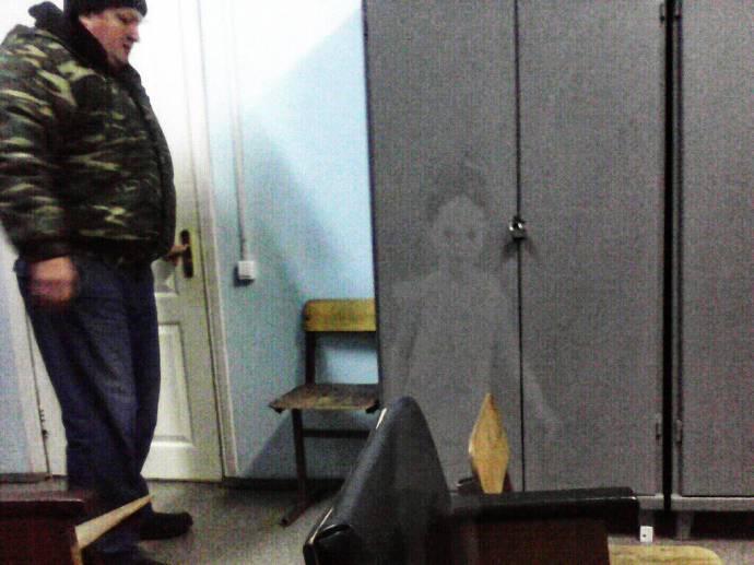 Телефонисты уверены, что засняли призрак девочки