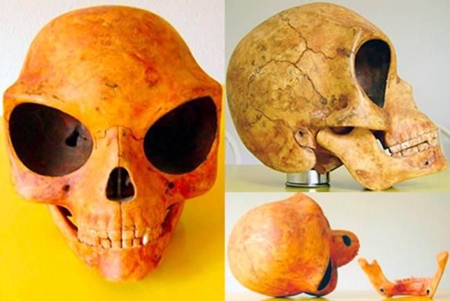 Череп из Ольстикке или Силендский череп