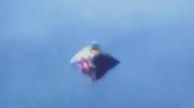 Житель Нью-Джерси заснял ромбовидный НЛО