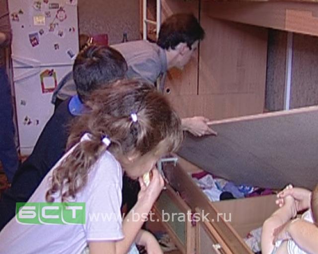 В Братской коммунальной квартире шалит полтергейст (3 фото + видео)