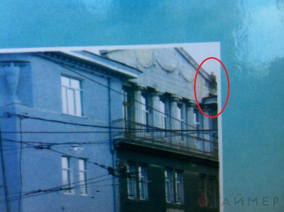 На крыше одесской школы засняли призрака из
