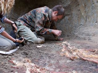 На Кубани найдены останки людей огромного роста
