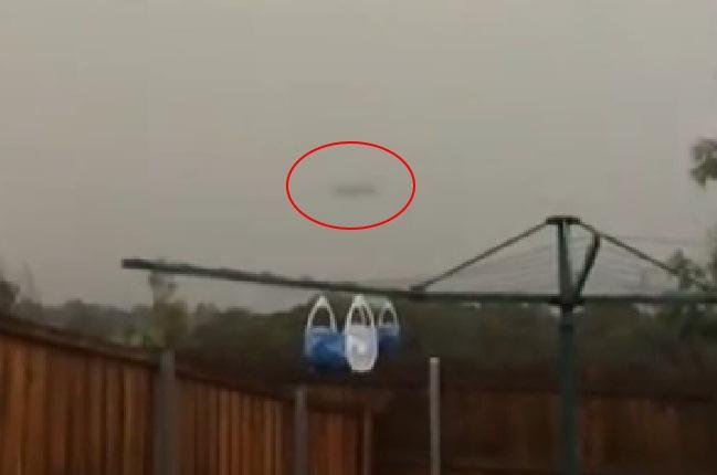Австралийцы засняли на видео сверхбыстрый НЛО