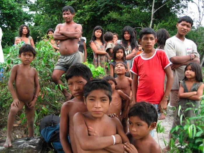 Дикие индейские племена голые секс среди племени