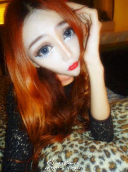Тина Леопард женщина -кукла (10 фото)