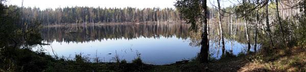 Озеро Смердячье - метеоритная воронка?