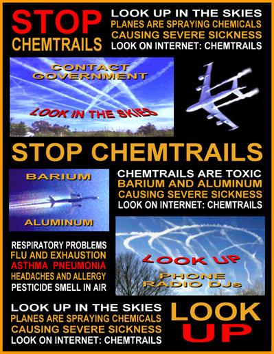 Химиотрассы - загадка неба