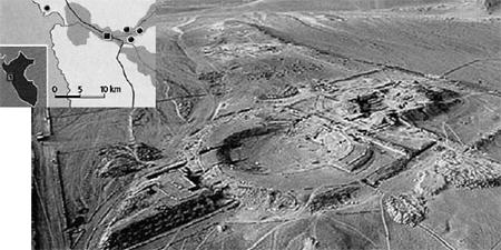 В одном из таких оазисов - в долине Касма - обнаружено около полусотни монументальных построек