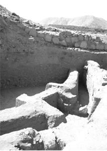 Раскопки в церемониальном центре Сечин-Бахо
