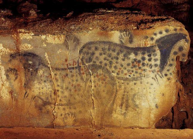 древнего человека как рисовать: