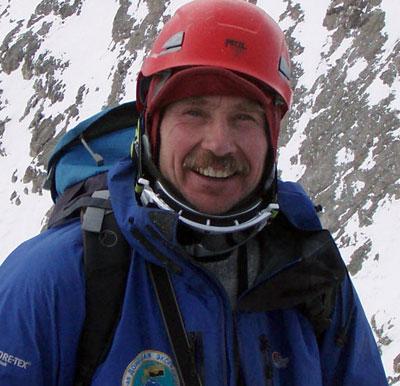 Многократный чемпион Украины, инструктор альпинизма Игорь Стороженко, Макеевка.